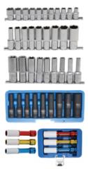 Socket assortments 1/2'' (12,5 mm)