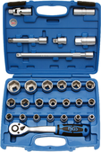 Socket sets 1/2'' (12,5 mm)