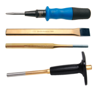 Chisels, centre punches & cotter pin drives