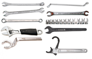 Ring & open spanners