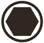 Bit Socket 12.5 mm (1/2) internal Hexagon