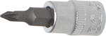 Bit Socket 6.3 mm (1/4) Drive Cross Slot