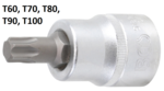 Bit Socket 20 mm (3/4) Drive T-Star (for Torx)