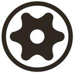 Bit Socket 12.5 mm (1/2) Drive T-Star tamperproof (for Torx)