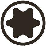 Impact Bit Socket (1/2) Drive T-Star (for Torx)