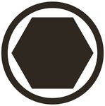 Impact Bit Socket (1/2) Drive internal Hexagon