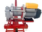Mobile crane 500 kg with electric winch