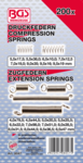 Spring Assortment compression and Extension spring 200 pcs.