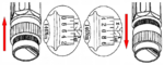 Torque Wrench Set 40 - 210 Nm 11 pcs