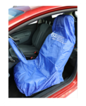Protective seat and steering wheel cover universal polyester
