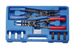 Circlip Pliers Set replaceable tips 10 pcs