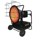 Infrared heater on diesel 290 m³