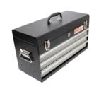 Metal Tool Box, empty, 3 Drawers