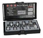 1/2 Hex socket bit set SAE 9pc