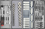 Practical tool trolley 303-piece