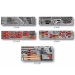 5-tier tool chest with 110pcs tools (insulated) (S & M)