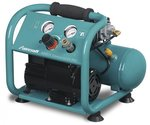 Oil-free low-noise compressor 10 bar, 4 liters