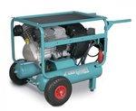 Mobile construction compressor hos 10 bar - 2x11 liters
