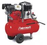 Mobile gasoline construction compressor 14 bar - 100 liters