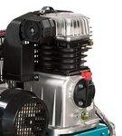 Belt driven oil compressor 10 bar - 50 liters