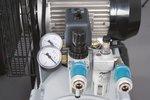 Belt driven oil compressor galvanized boiler 10 bar - 50 liters