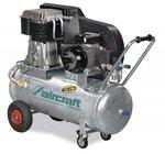 Belt driven oil compressor galvanized boiler 13 bar - 75 liters