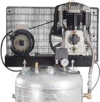 Piston compressor 10 bar - 270 liters -850x710x1.950mm