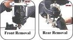Rear sub-frame bush installer/remover Mercedes Benz
