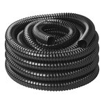 Waste water hose black 10M / 25mm