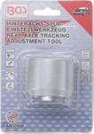 Rear axle track adjustment tool for MINI