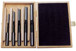 Set of 5-piece long hole drills