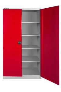 Universal storage cupboard with shelves 780x380x1.920mm