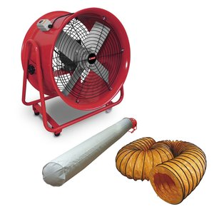 Fan 400 mm with accessories 580x550x360mm