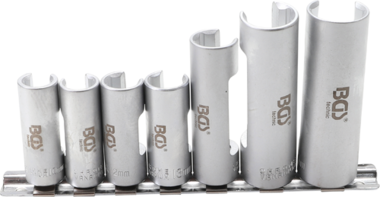 Special Socket Set, slotted | 10 mm (3/8) drive | 10 - 19 mm | 6 pcs.