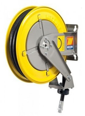 Automatic hose reel for oil 3/8