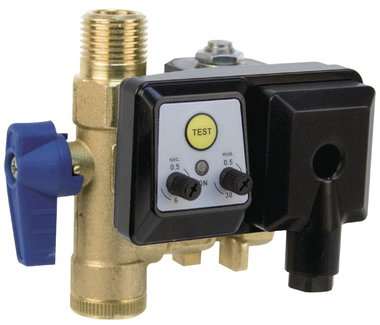 Time-controlled condensate drain