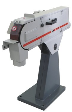 Belt sander 75x2000 mm 3x400v with motor brake 75kg