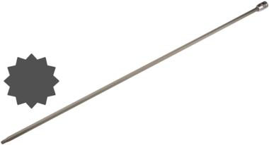 Bit Socket length 800 mm for Audi, VW 12.5 mm (1/2) Drive Spline (for XZN)