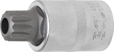 Bit Socket 12.5 mm (1/2) Drive Spline tamperproof (for XZN) M16