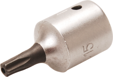 Bit Socket 6.3 mm (1/4) Drive T-Star tamperproof (for Torx)