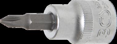 Bit Socket 10 mm (3/8) Drive Cross Slot
