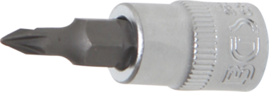 Bit Socket 6.3 mm (1/4) Drive Cross Slot