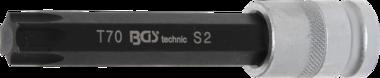 Bit Socket length 120 mm 12.5 mm (1/2) Drive T-Star (for Torx) T70
