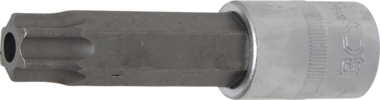 Bit Socket length 100mm (1/2) Drive T-Star tamperproof (for Torx) T80