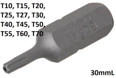 Bit Socket (5/16) Drive T-Star tamperproof (for Torx)