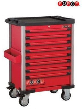 Tool trolley Practical 208pc (Foam)