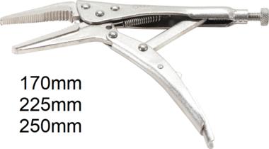 Locking Long Nose Grip Pliers