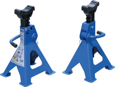 Axle Stands load capacity 3 ton / pair stroke 276-420mm 1 pair