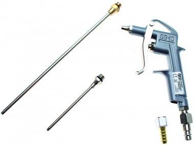 Air Blow Gun aluminium pressure Die casting with 3 Attachments