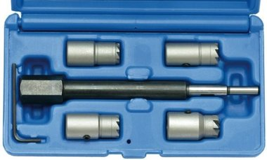 Injector Sealing Cutter Set for CDI engines 5 pcs.